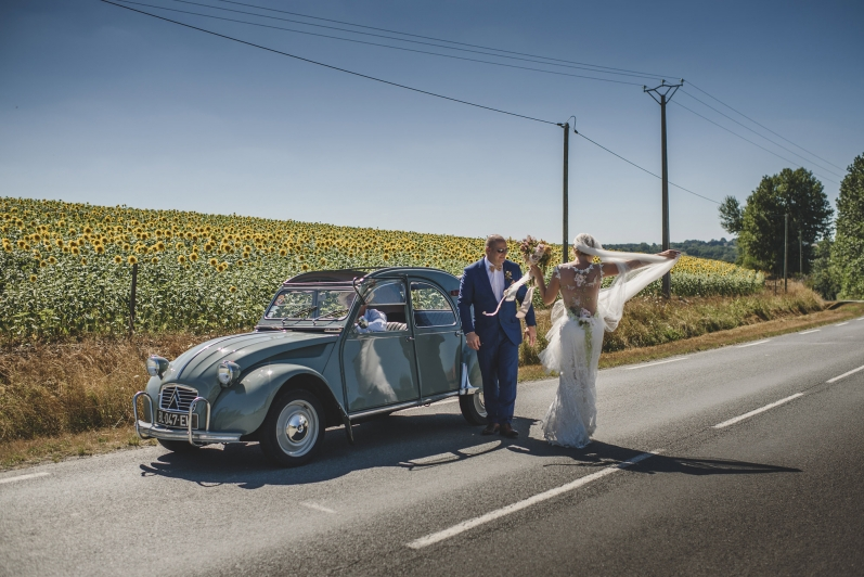 wedding photographer Chateau la Durantie