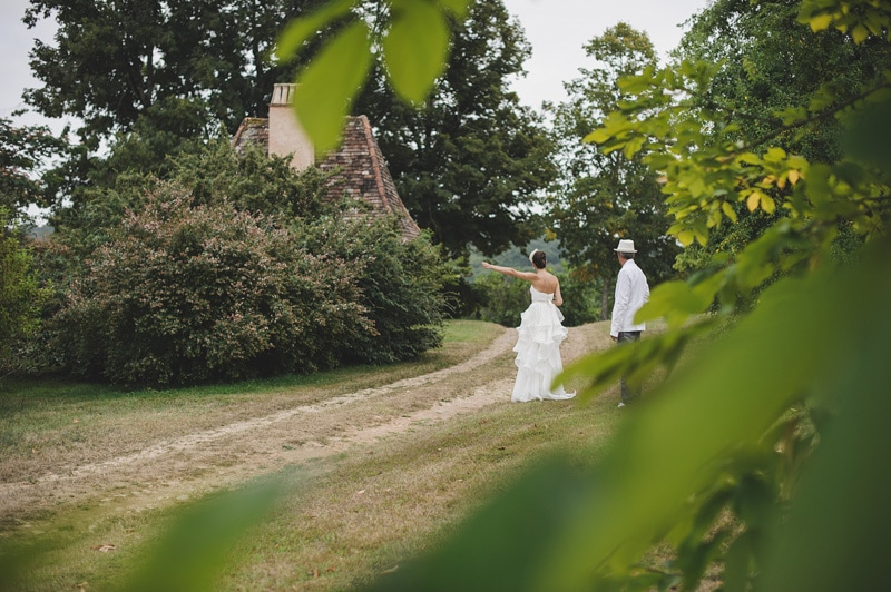 chateau de la bourlie wedding