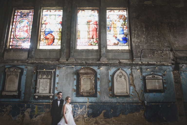 Asylum wedding photography